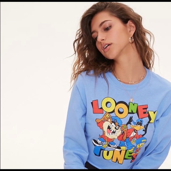 Forever 21 Tops - Looney toons graphic tee